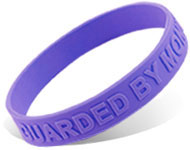 Custom Embossed Silicone Wristbands