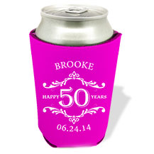 Custom Celebration Design Koozies