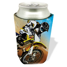 Custom Racing Design Koozies