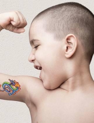 Custom Temporary Tattoos Custom Tattoos Cheap - 24HourWristbands.Com