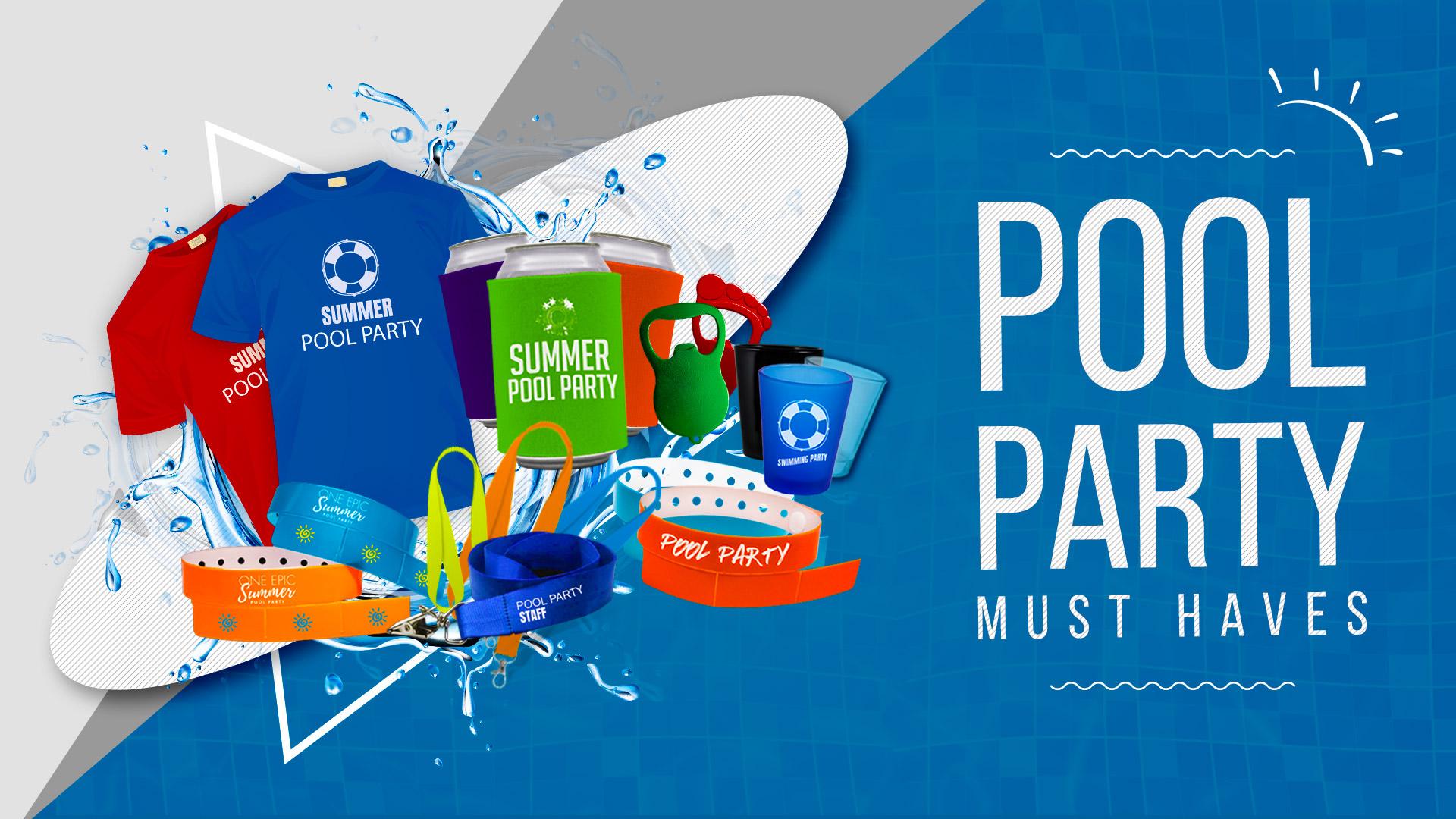 Pool Party Essentials - 2019 - 24WristBand.com