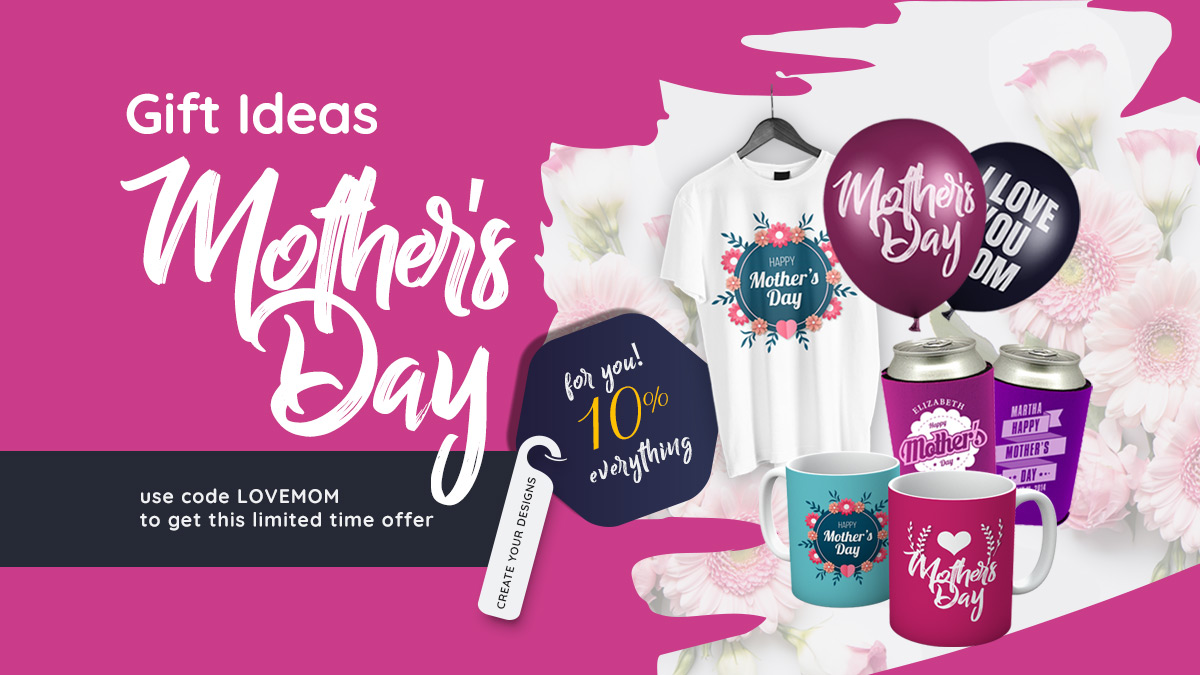 Mother's Day Customized Items - 24HoursWristBand.com