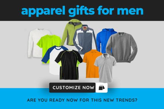 Customized Apparel for Men - 24HourWristBands.com