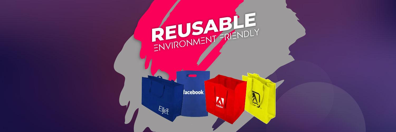 Tote Bags - Reusable