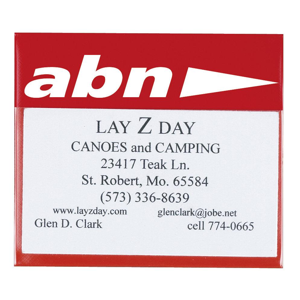 Vinyl Card Holder | Business Card Holders - 24HourWristbands.Com
