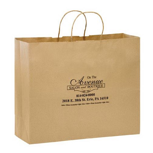 Vogue Kraft Paper Bag Paper Bags 24hourwristbandscom