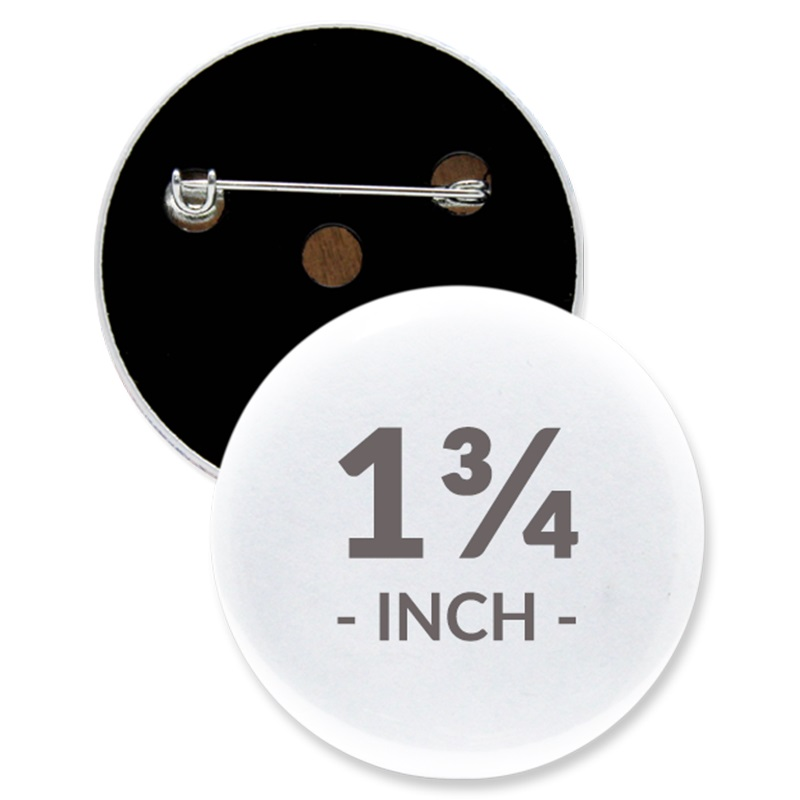 1 3/4 Inch Round Custom Buttons