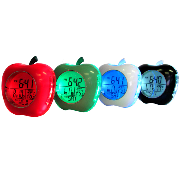 Apple Shaped Talking Alarm Clock
