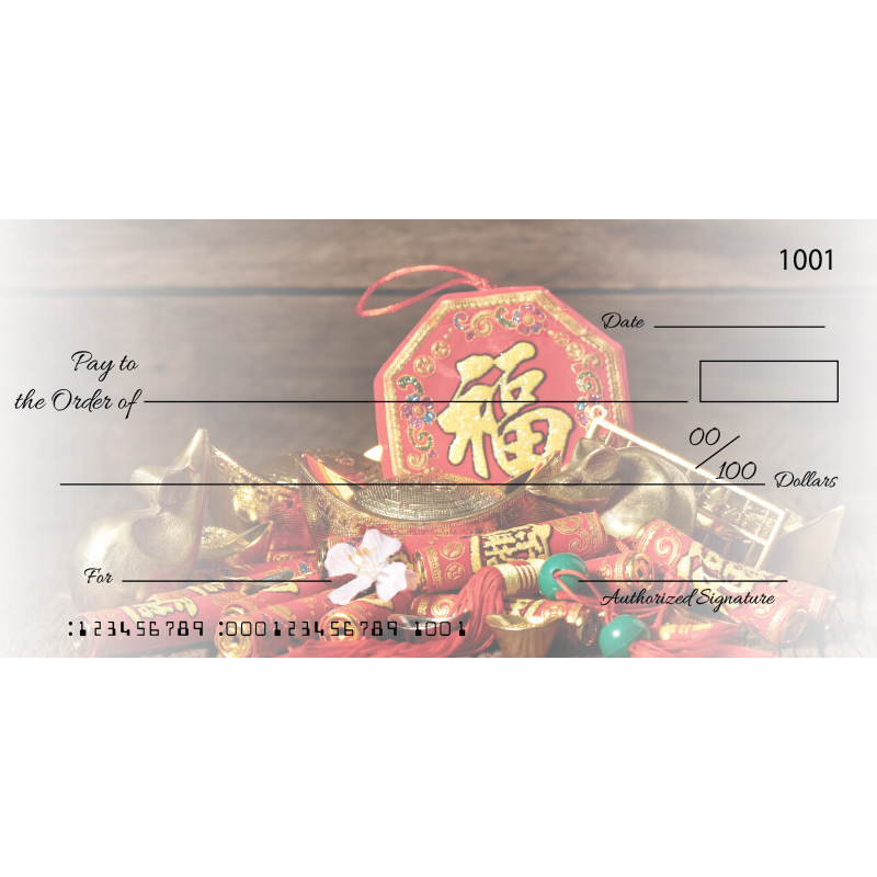 Custom Lunar New Year Big Checks