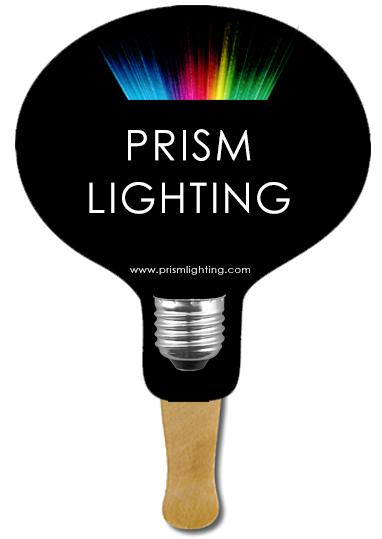 Light Bulb Hand Fans