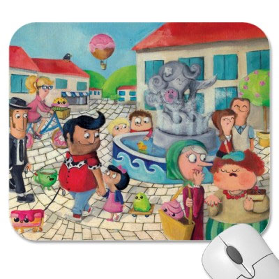 Medium Mouse Pad Custom Printed