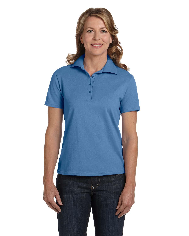 Hanes Ladies 7 Oz. ComfortSoft® Cotton Pique Polo
