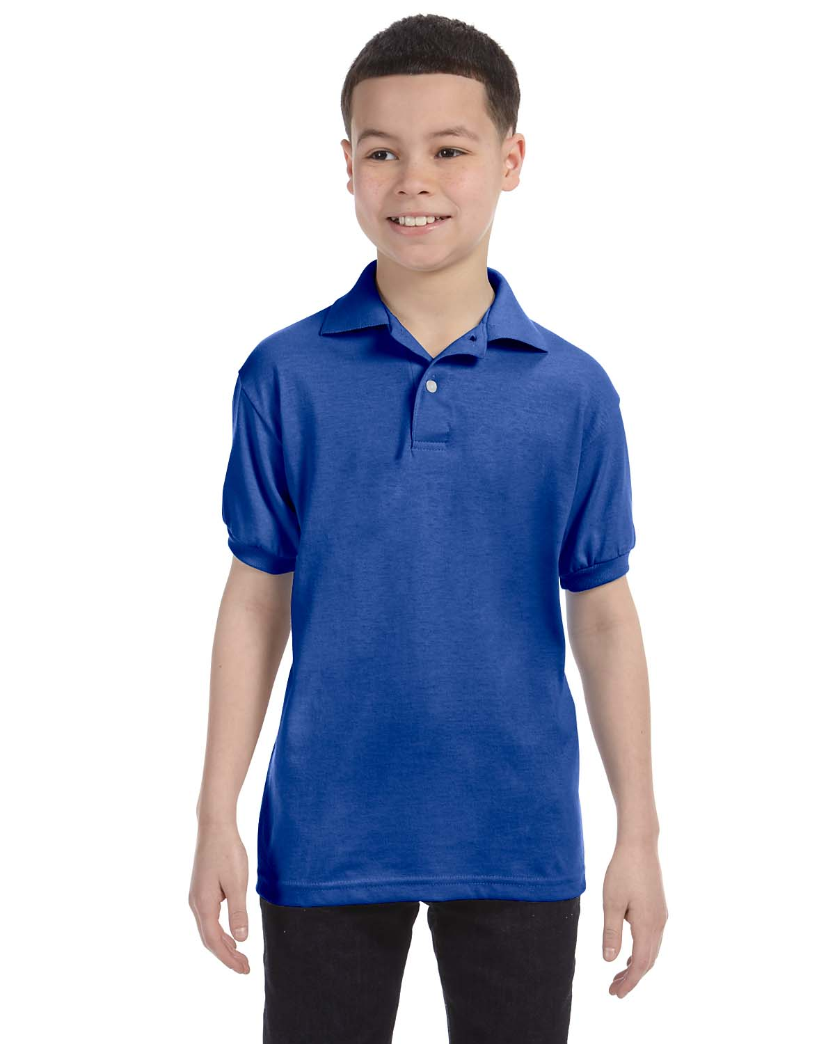Hanes Youth 5.2 Oz., 50/50 ComfortBlend® EcoSmart® Jerse