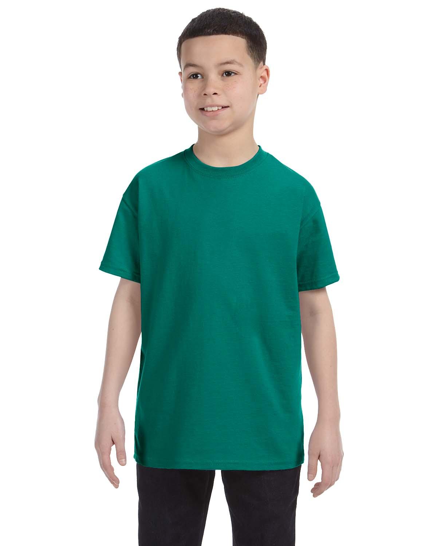 Jerzees Youth 5.6 Oz., 50/50 Heavyweight Blend™ T-Shirt