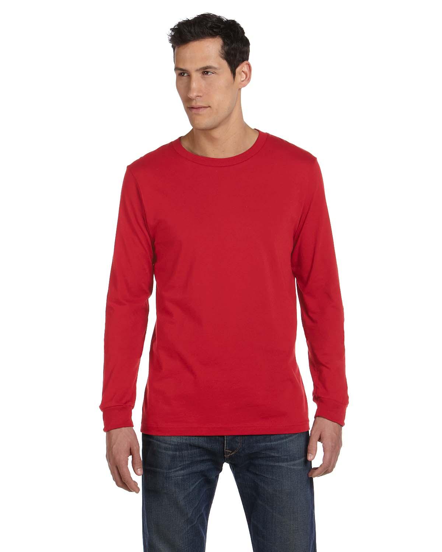 Bella Mens Jersey Long-Sleeve T-Shirt