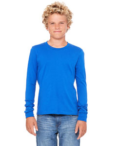 Bella Youth Jersey Long-Sleeve T-Shirt
