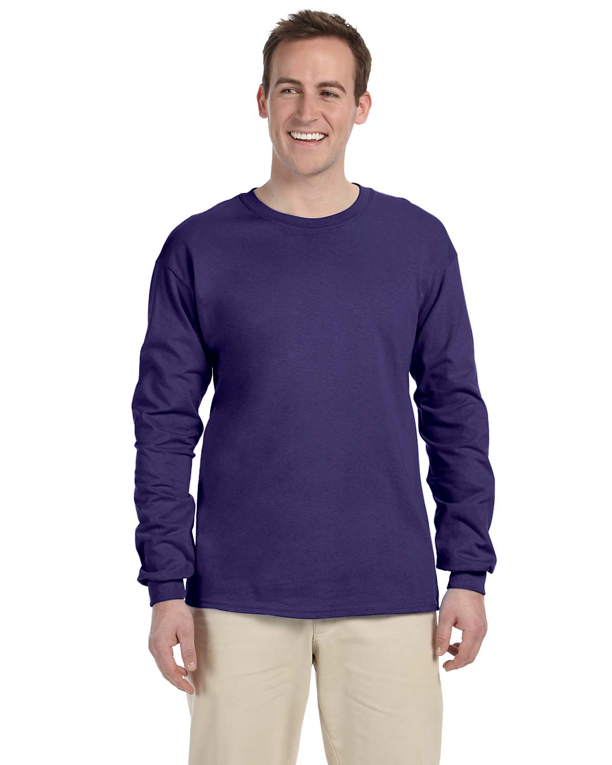Jerzees 5 Oz. HiDENSI-T® Long-Sleeve T-Shirt