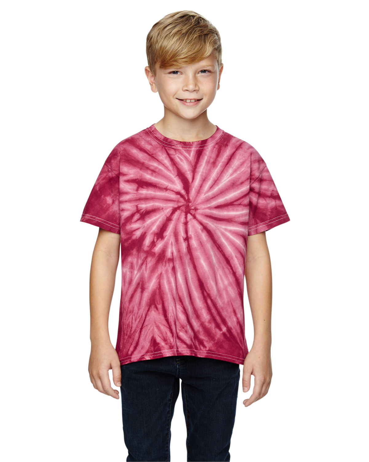 Dyenomite Youth Team Tonal Cyclone Tie-Dyed T-Shirt