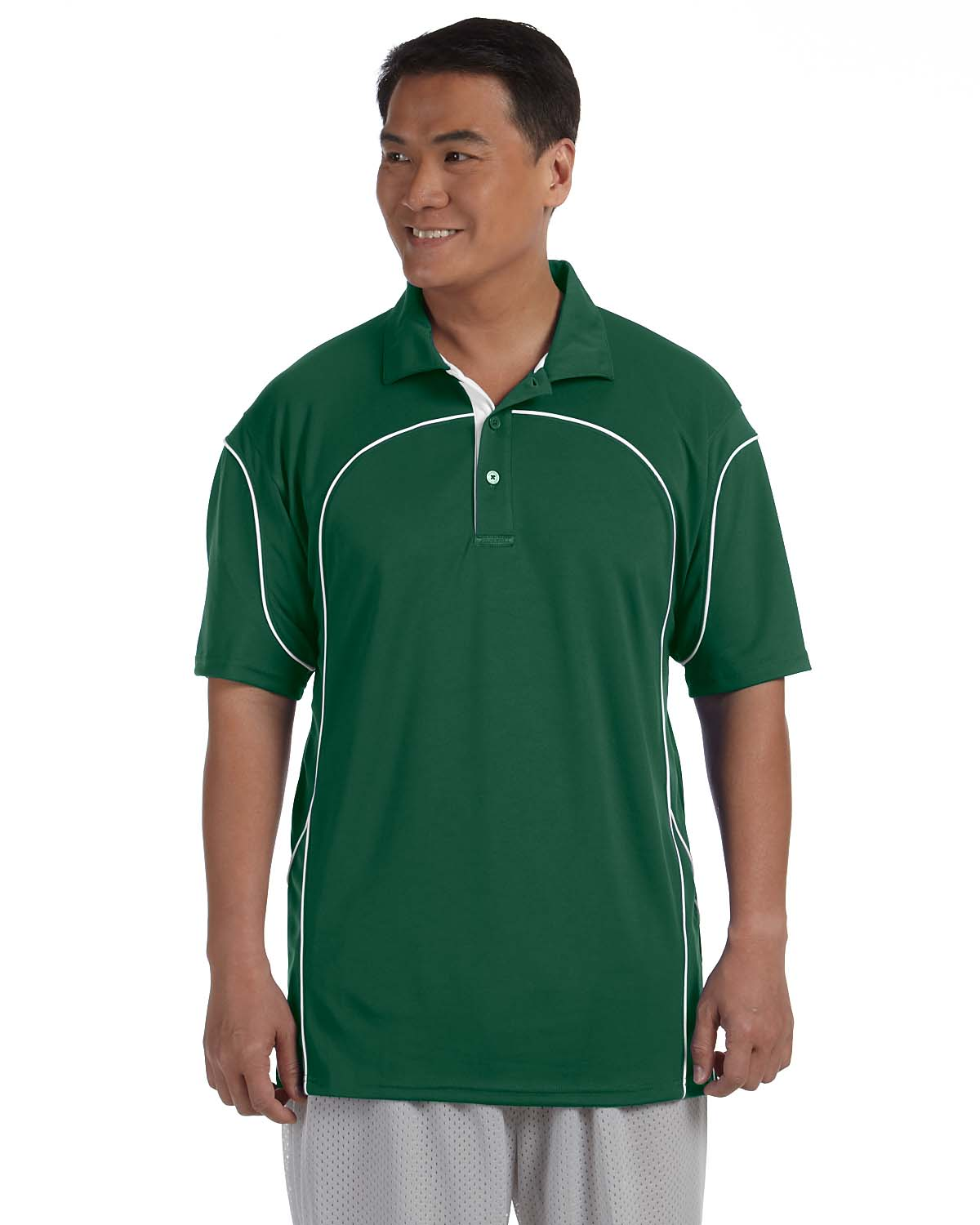 Russell Athletic Mens Team Prestige Polo