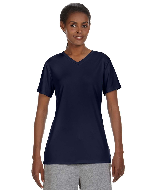 Hanes Ladies 4 Oz. Cool Dri® V-Neck T-Shirt