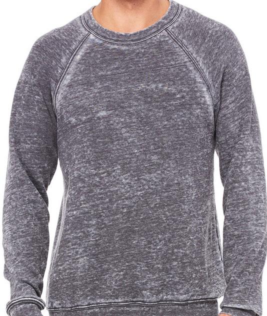 Grey Acid Fleece
