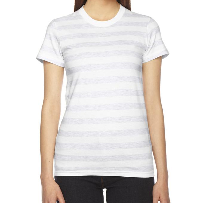 Ash White Stripe