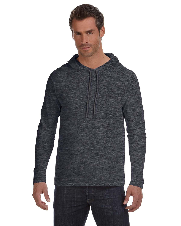 Anvil Lightweight Long-Sleeve Hooded T-Shirt