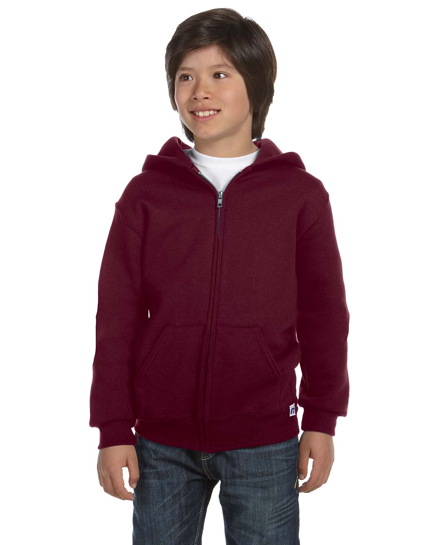 Russell Athletic Youth Dri-Power® Fleece Full-Zip Hood