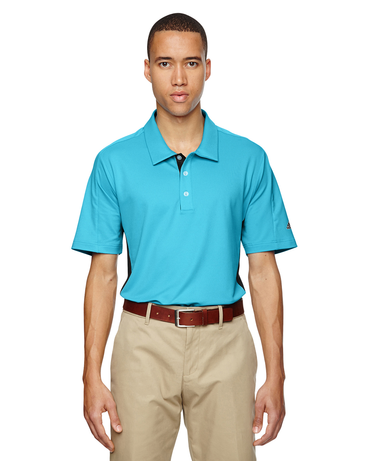Adidas Golf Puremotion® Colorblock 3-Stripes Polo