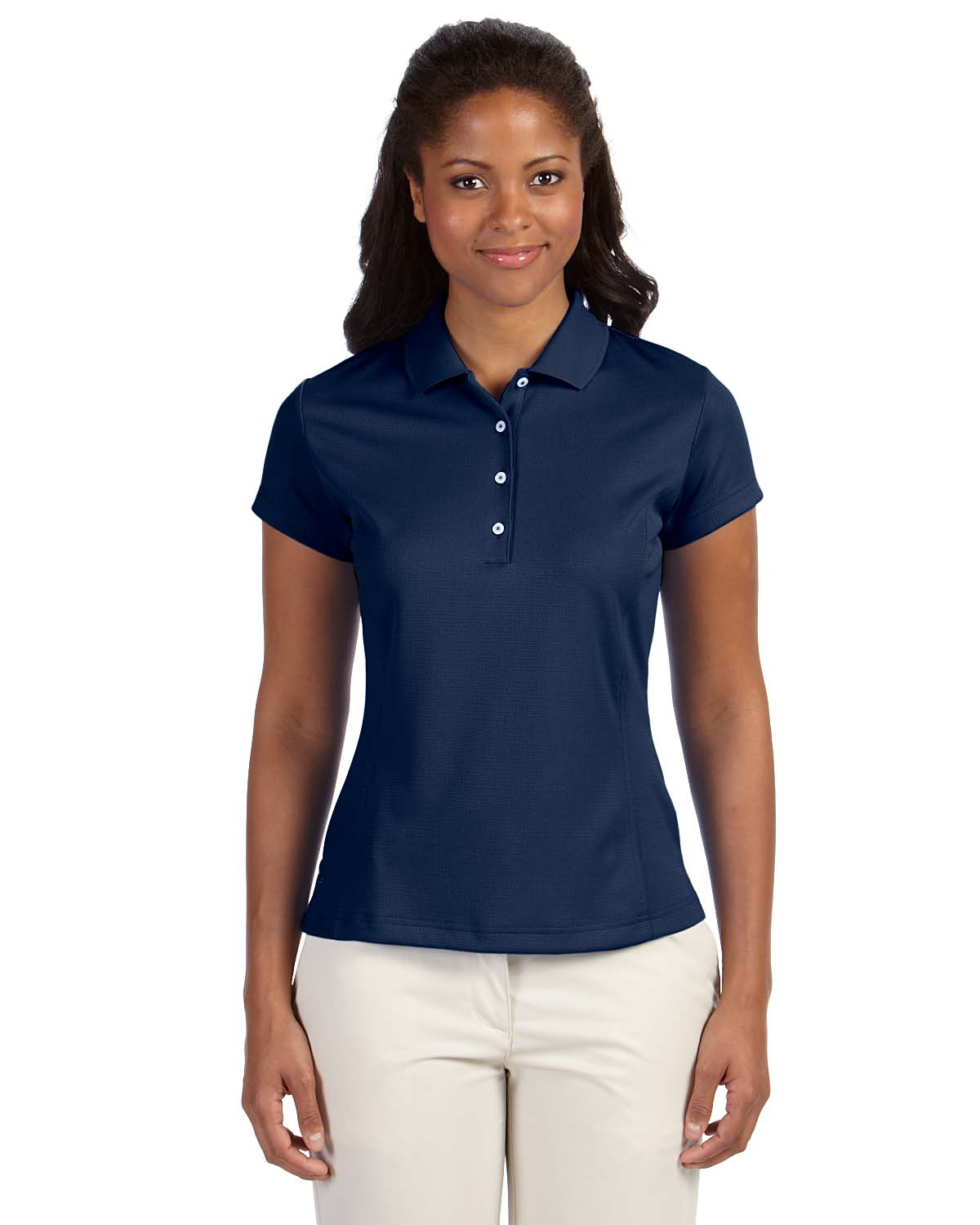 Adidas Golf Ladies Climalite® Solid Polo