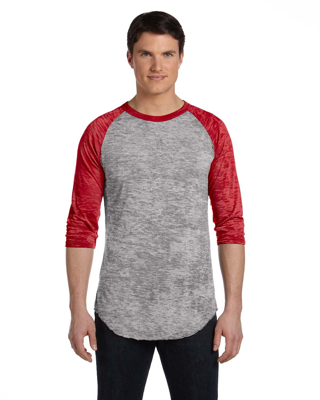 Alternative Mens Big League Burnout Baseball T-Shirt