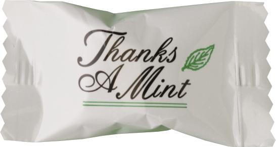 Thanks A Mint Foil Lined