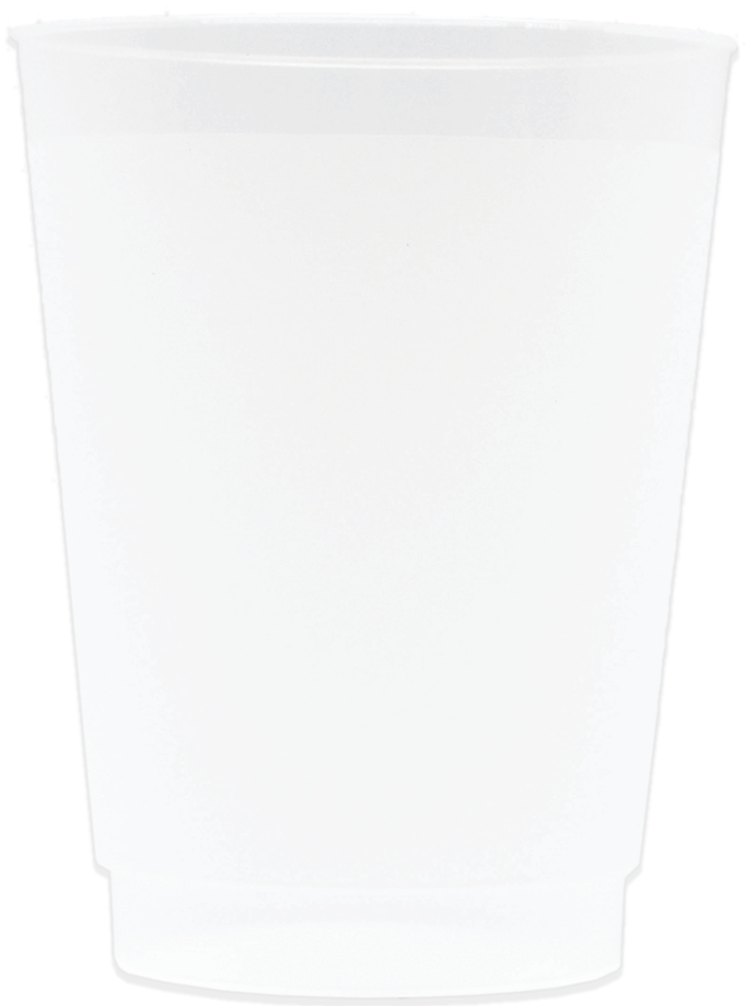 8oz Frosted Stadium Cups