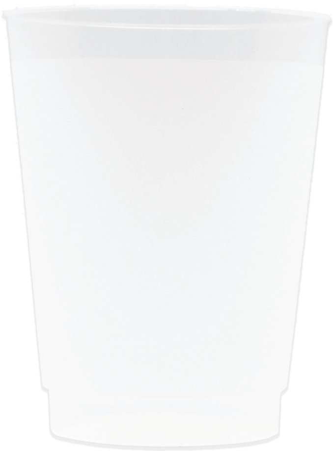 10oz Frosted Stadium Cups