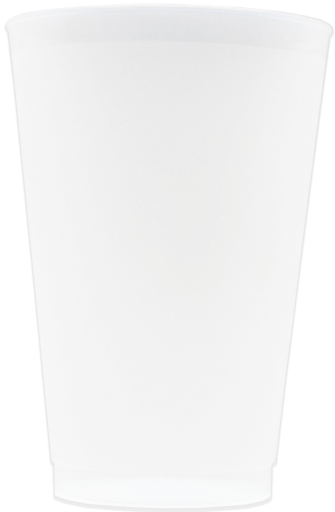 20oz Frosted Stadium Cups