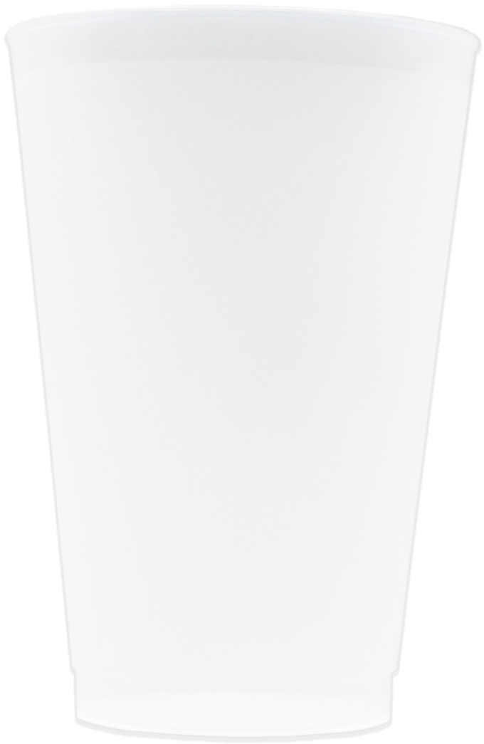 24oz Frosted Stadium Cups