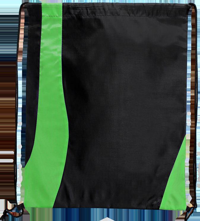 020888c90280ad Two Tone Wavy Drawstring Tote Bags | Drawstring Sportpacks ...