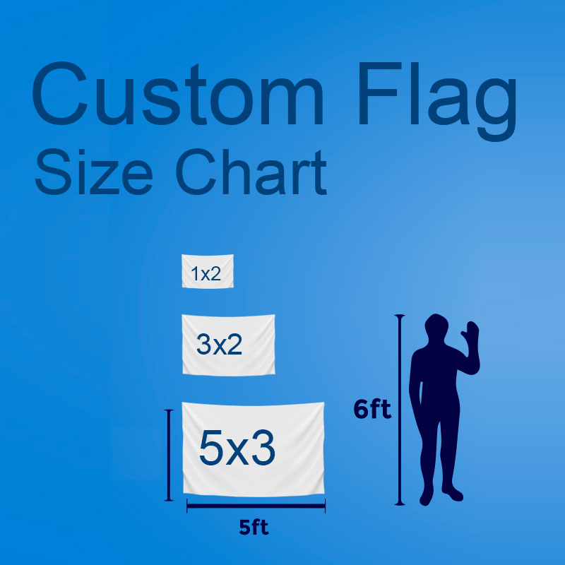 Custom Flag Size Chart