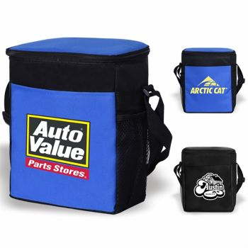 12-Can Portable Vertical Soft Insulated Cooler Bags