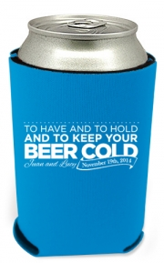 2 Have And 2 Hold Wedding Can Coolers