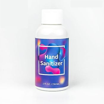 2 Oz Premium Hand Sanitizers With Full Color Custom Label