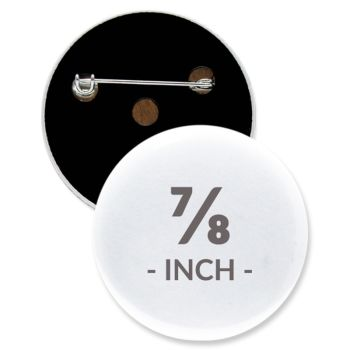 Custom Round Buttons - 24HourWristbands Com