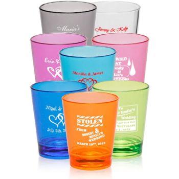 Acrylic Color Shot Glass - 1.5 oz