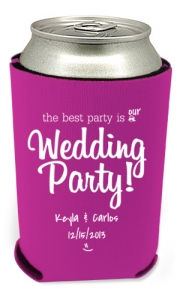 Best Party Wedding Can Coolers
