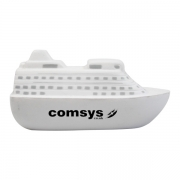 Cruise ship shaped stress reliever