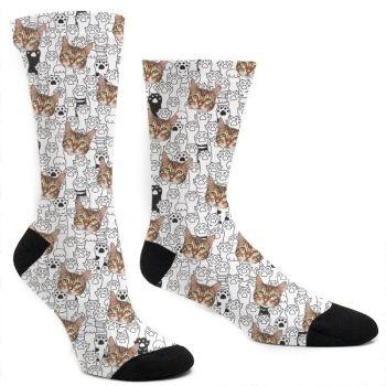 Custom Cat Paw Socks