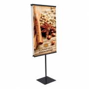 Easy Snap Rail Traditional Banner Display (24