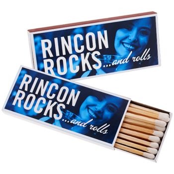 Full Color Matchboxes with 17 3-Inch Matchsticks