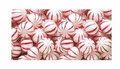 Hard Peppermint Balls - Customized Wrapper