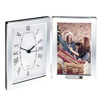 Jadis Desk Clock & Photo Frame
